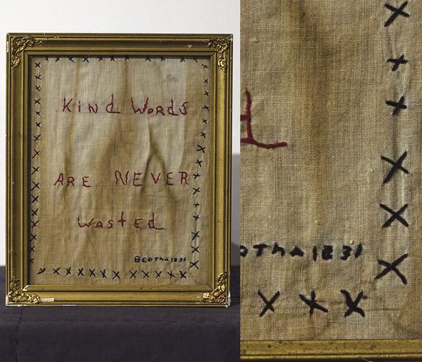 1831 Stitched Cloth